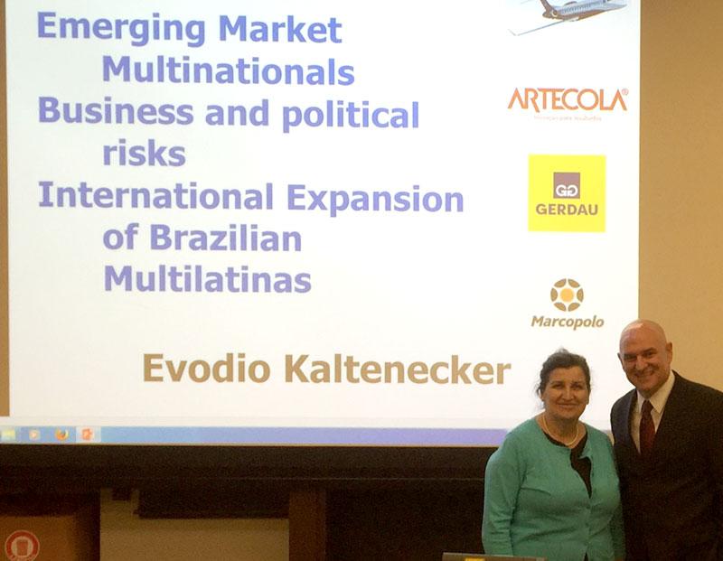 Cornell University | Palestra: Internacionalização de Multinacionais de Países Emergentes